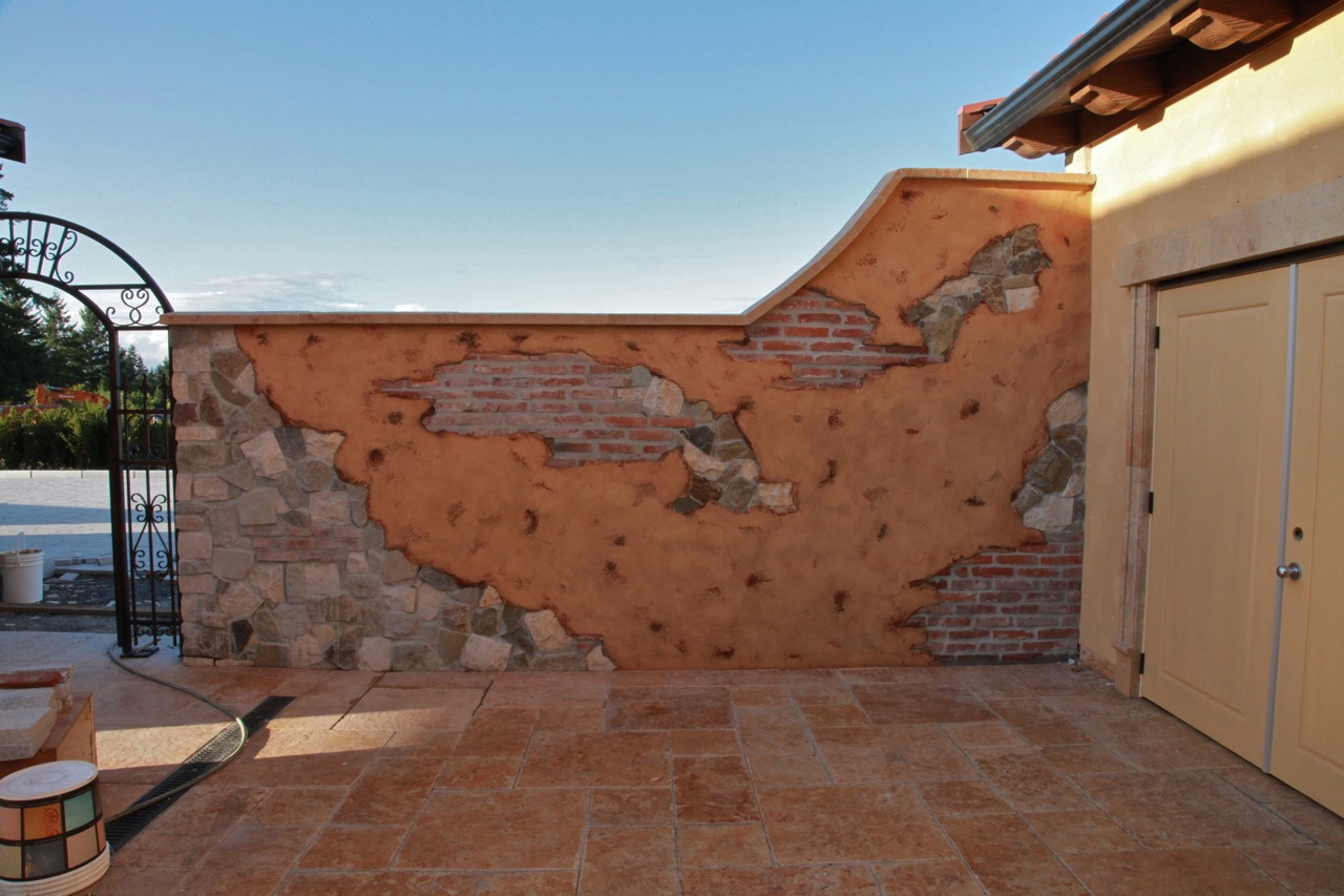Painting Old Stucco Exterior Walls Home Decor
