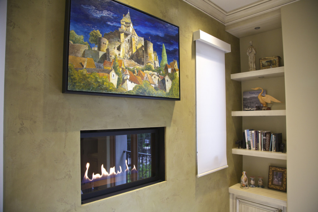 Traditional Design With Venetian Plaster Details